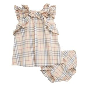 Burberry Carla Swing Top and Bloomers Set Sz 18m